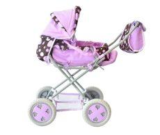 carriolas para ninas carriola para mu 241 eca juguete para ni 241 as color morado caf 233 915 00 en mercado libre