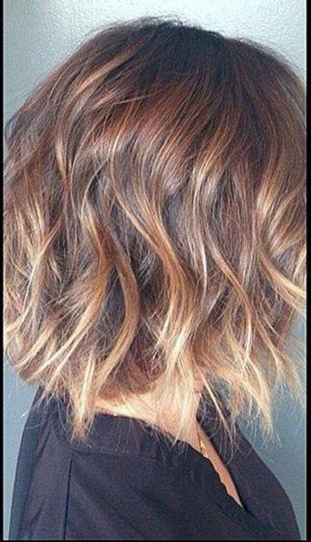 fantastic light brown blonde wavy bob cut perfect