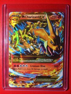 mega charizard ex x secret rare card secret m charizard ex mega y edition 1st holo flash set ebay