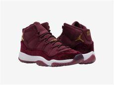 jordan 11 heiress red velvet air 11 gg heiress velvet sneakers addict