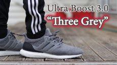 adidas ultra boost 40 grey on feet adidas ultra boost 3 0 three grey up on different