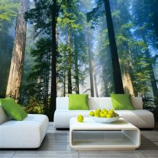 forest wallpaper murals for walls 5d papel murals forests wallpaper nature fog trees 3d wall photo mural forest wall paper for