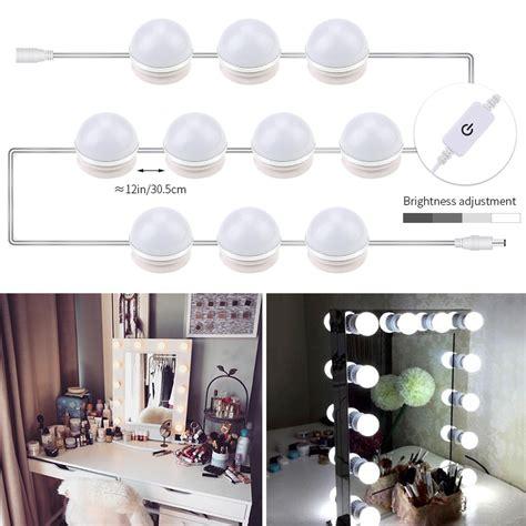 led makeup mirror light 6 10 14 bulbs