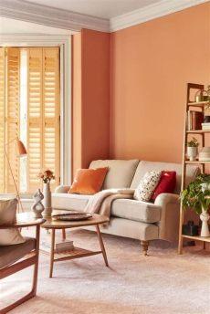 decoracion de salas pequenas modernas color naranja colores para salas 2021 2020 50 fotos de combinaciones