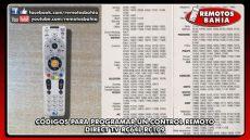 c 211 digos para programar configurar un remoto direct tv rc64l rc109 remotos bahia - Codigo Para Control Universal Tv Lg