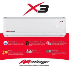 minisplit mirage x3 24000 btu 2 ton 220 v pago t c 13 330 00 en mercado libre - Minisplit Mirage X3 De 2 Toneladas