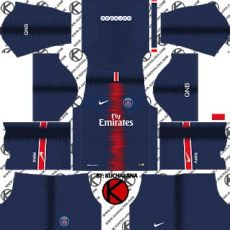 kit dls 19 keren nike germain psg 2018 19 kit league soccer kits soccer kits psg