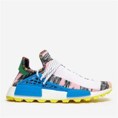 hu nmd afro adidas originals afro pack solar hu nmd in blue for lyst