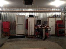 metal garage interior wall ideas best garage finishing ideas homesfeed