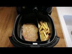 schnitzel mit pommes aus dem philips airfryer matthias steiner zeigt wie s geht - Airfryer Rezepte Schnitzel