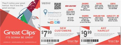 top effortless great clips free coupons printable kongdian