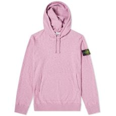stone island garment dyed popover hoody rose quartz island garment dyed popover knit hoody quartz end