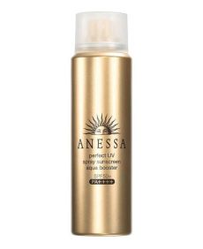 anessa perfect uv sunscreen aqua booster review japan shiseido anessa uv spray sunscreen aqua booster
