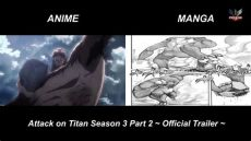 attack on titan season 3 part 2 trailer attack on titan season 3 part 2 trailer anime vs