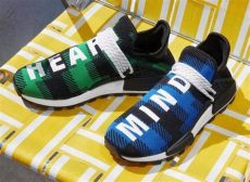 pharrell williams bbc hu nmd shoes article no bb9544 pharrell adidas nmd hu x releasing in plaid colors this friday photos