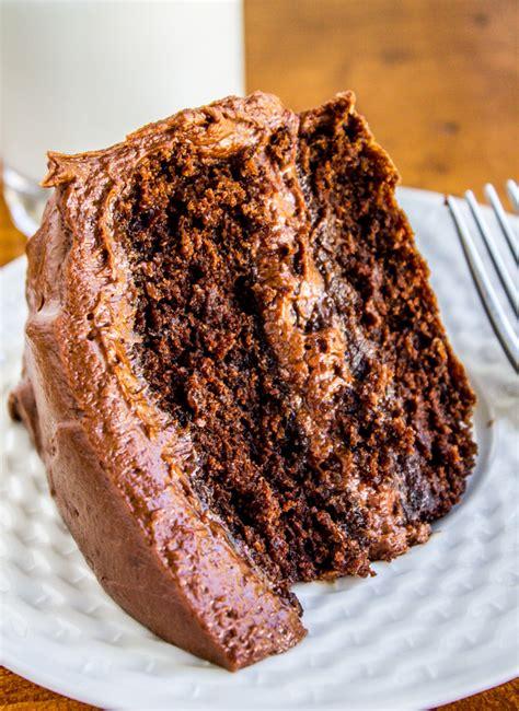 chocolate cake ve food charlatan