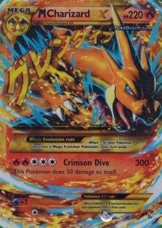 mega charizard ex x secret rare m charizard ex 107 106 xy flashfire mega secret card