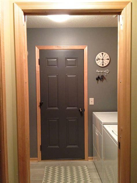 paint exterior door grey paint mud room 2019