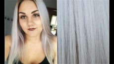 graue flieder haare mit directions t 246 nen - Directions Graue Haare