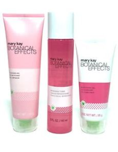 mary kay botanical effects cleanser ingredients botanical effects you choose all skin type cleanser toner moisturizer ebay