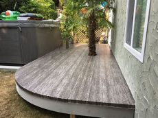 vinyl deck flooring canada vinyl decking sales and instullation deckrite canada