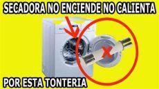 mi secadora de ropa no calienta principal causa por la que una secadora de ropa no enciende no calienta reparala tu mismo