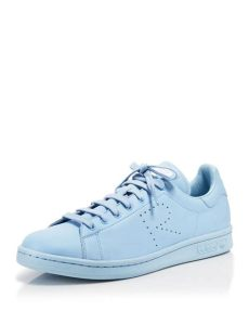stan smith shoes light blue adidas by raf simons stan smith leather sneakers in light blue blue lyst