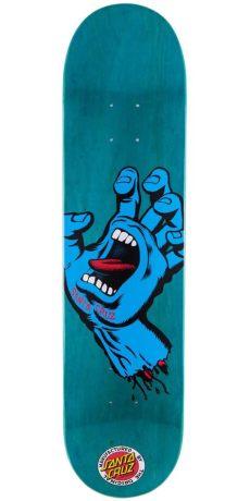santa screaming skateboard deck 7 60 quot - Santa Cruz Screaming Hand Deck
