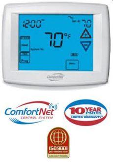 comfortnet thermostat ctk01 comfortnet communications system thermostat ctk01aa ebay