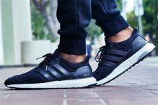 on foot look adidas ultra boost black white kicks - White Adidas Ultra Boost On Feet