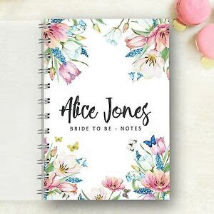 personalised wedding planner spring hen gift 4 year