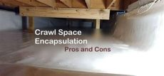 crawl space encapsulation pros and cons h2ouse home