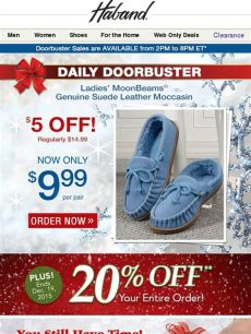haband mens slippers haband doorbuster 20 moccasins sale milled