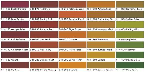 Tuscan Paint Colors Behr