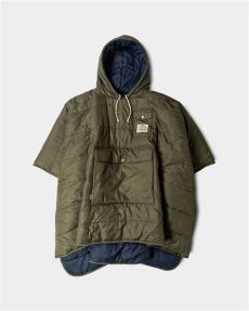 poler outdoor stuff poncho poler s reversible c poncho has lots of style and pockets