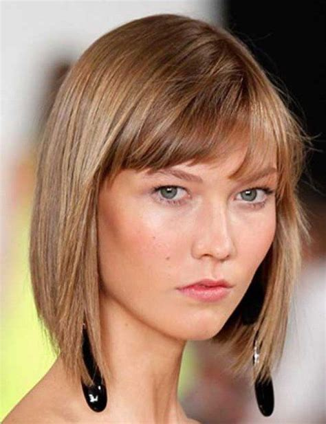 asymmetrical bob haircuts bangs fine hair fine hair