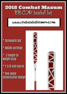 2018 combat maxum bbcor baseball bat review - 2018 Combat Maxum Bbcor