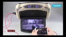 pantallas dvd para carros pantalla dvd de techo sd usb av in out con hdmi