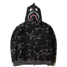 a bathing ape hoodie price a bathing ape bape wgm camo shark hoodie black