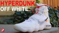 nike hyperdunk 2017 flyknit off white white nike hyperdunk 2017 flyknit unboxing detailed look