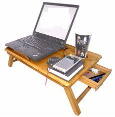 como hacer mesa plegable para laptop base mesa de bambu cama ventilador laptop de 10 16 enfria 548 00 en mercado libre