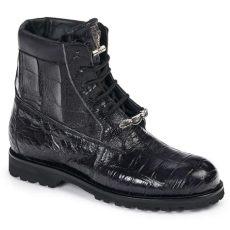 mauri gators mauri 4884 alligator crocodile boots black mensdesignershoe