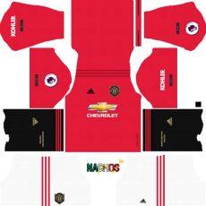 jersey kit dls mancester united 2019 league soccer kits nachos mx official dls