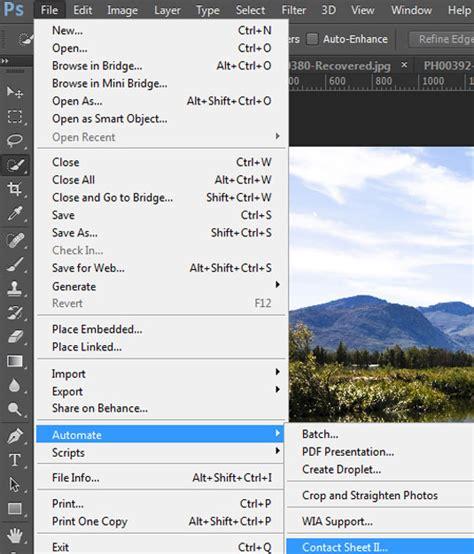 create contact sheets photoshop creative bloq