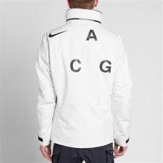 nikelab acg 2 in 1 system jacket white nikelab acg 2 in 1 system jacket summit white black end