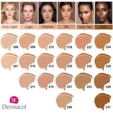 dermacol foundation shades dermacol make up cover 226 legendary high covering foundation