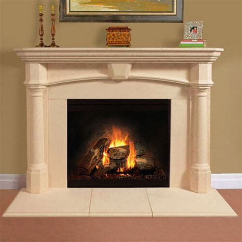 fireplace mantel mantle surround shelf cast stone