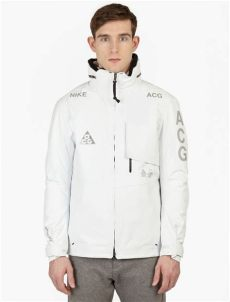 nike acg 2 in 1 jacket white nike white acg 2 in 1 system jacket in white for lyst