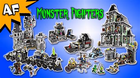 lego monster fighters set complete collection youtube