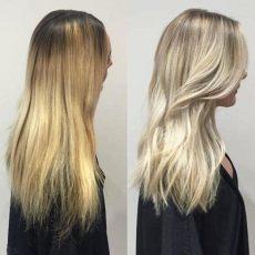 haare abmattieren was ist das haarfarbe haare f 228 rben in vorher nachher fotos